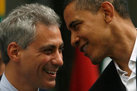 Rahm Emanuel - Barack Obama