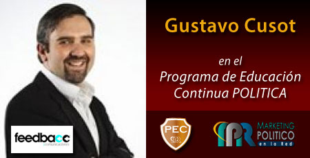 Gustavo Cusot PEC - Marketing Politico en la Red