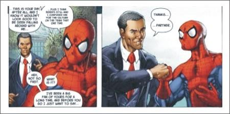 Comic en la Política - Marketing Político en la Red