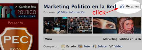 Gustanos en Facebook