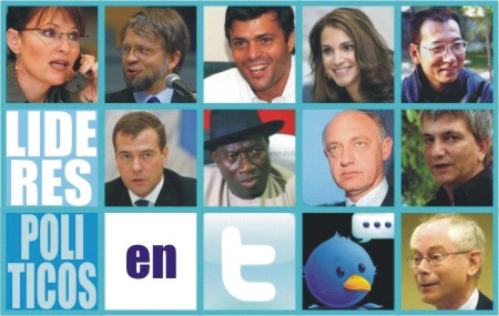 Líderes políticos en Twitter - Marketing Político en la Red
