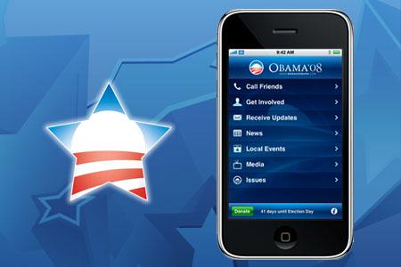 Obama Iphone - Marketing Político en la Red