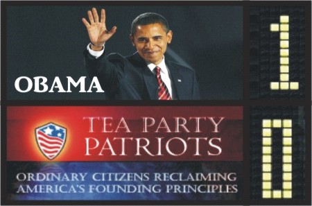 Obama Vs tea Party - Marketing Político en la Red