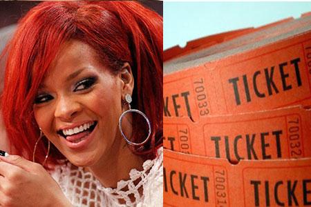 Rihanna Tickets - Marketing Político en la Red