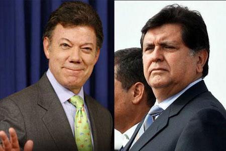 Juan Manuel Santos - Alan Garcia - Marketing Político en la Red