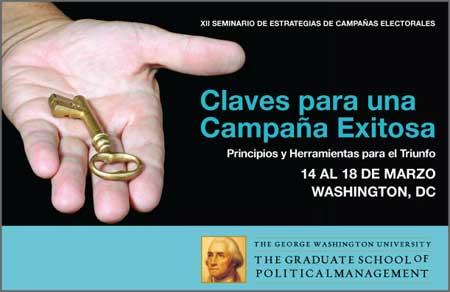 GWU Claves para una Campaña Exitosa - GSPM