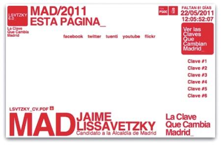 Web Jaime Lissavetzky