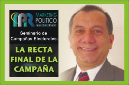 Pedro Silva Seminario La recta Final de la Campaña - Marketing Político en la Red