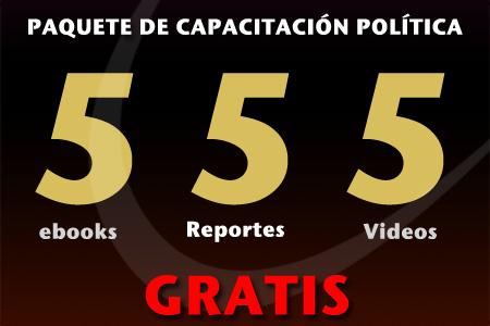 Paquete de Capacitación Política 555