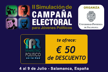 II Simulación de Campaña Electoral Para Jovenes Políticos