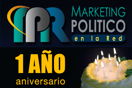 Marketing Politico en la Red - Aniversario