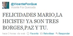 Vicente Fox Twitter - Marketing Politico en la Red