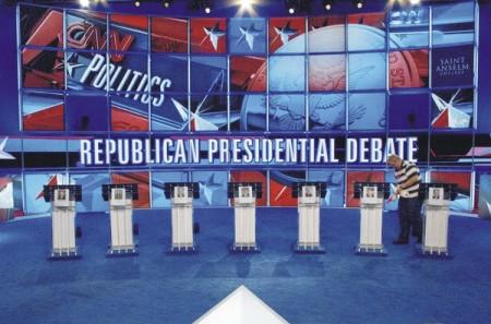 Primer Debate Republicano - Marketing Político en la Red