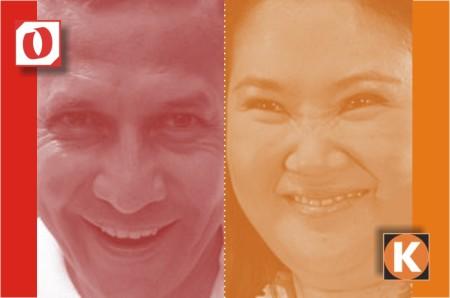 Ollanta Humala Vs Keiko Fujimori - Marketing Político en la Red