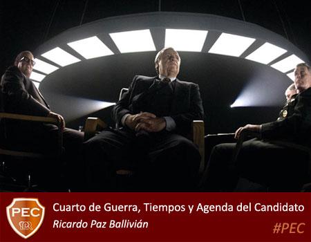 Cuarto de Guerra - Ricardo Paz Ballivian - PEC