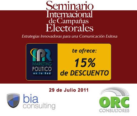 Seminario Internacional de Campañas Electorales