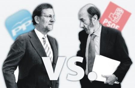 Rubalcaba vs Rajoy
