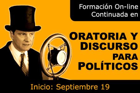 Oratoria y Discuros para Politicos - Marketing Político en la Red