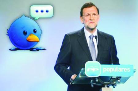 Rajoy en Twitter