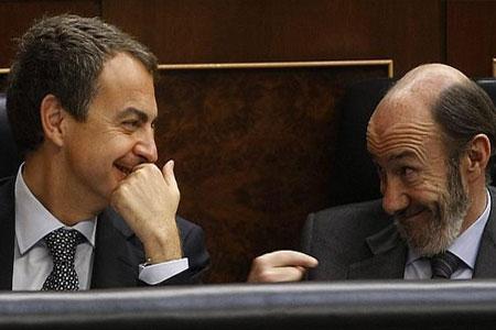 Zapatero,  Alfredo Pérez Rubalcaba