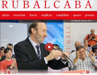 Rubalcaba - Marketing Político en la Red
