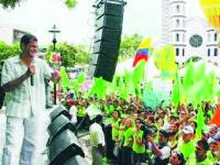 Campaña Electoral de Tarima - Marketing Político en la Red