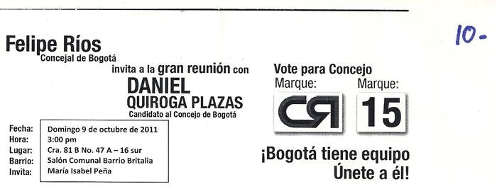 elcciones colombia 2011