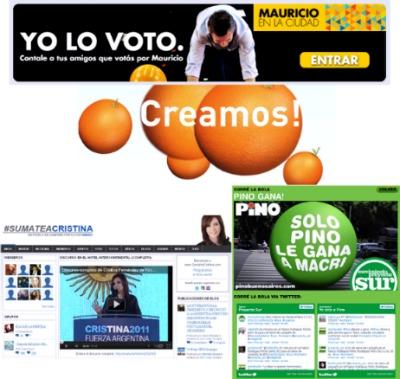 Elecciones Argentina 2011 - Marketing Político en la Red