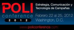 POLI Conference 2012 Marketing Político en la Red