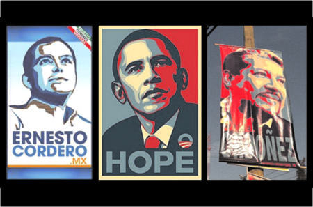 Candidatos de América Latina VS Obama - Marketing Político en la Red