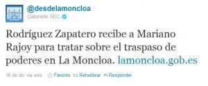 Gobierno Español - Marketing Polico en la Red