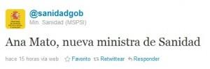 Gobierno de España - Marketing Político en la Red