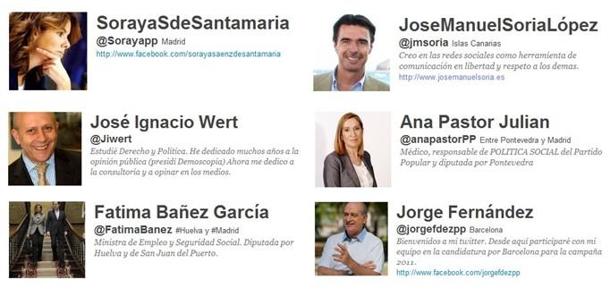 Gobierno Español - Marketing Político en la Red