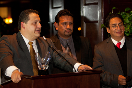 Carlos Lorenzana - VICTORY AWARD 2012