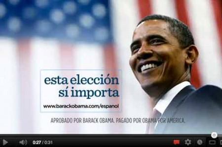 Spots en Español de Obama - Marketing Político en la Red