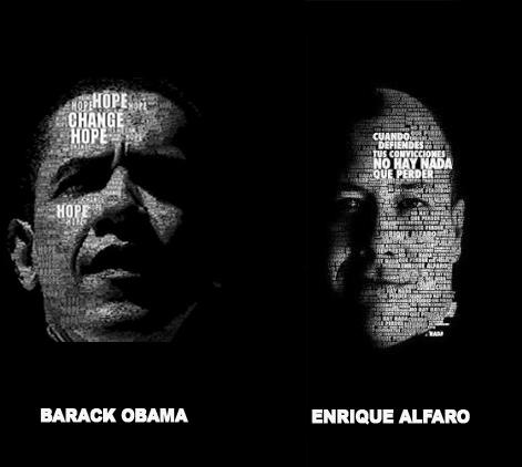 barack obama, enrique alfaro