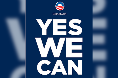 El slogan en el marketing político - Yes we can