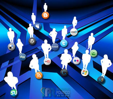 La comunicación del marketing político en los medios y redes sociales