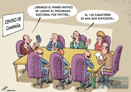 tipos de twitteros políticos