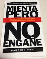 Libro Xavier Dominguez - Mienta pero no engañe