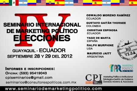 IV Seminario Internacional De Marketing Político
