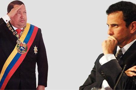 Hugo Chavez, Enrique Capriles