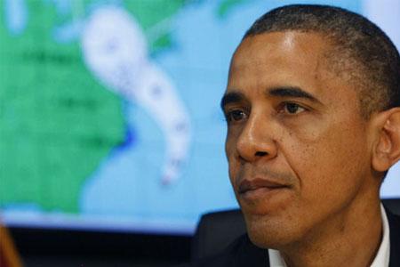 Sandy huracán - Obama