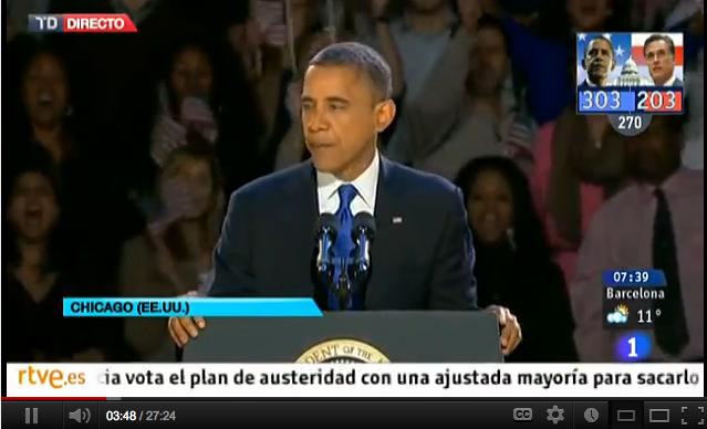 Obama Discurso de aceptación 2012