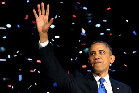 Obama ganó