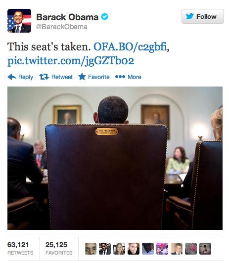 Obama - Esta silla esta tomada