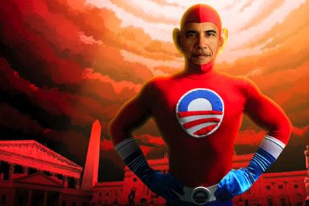 Obama Superman