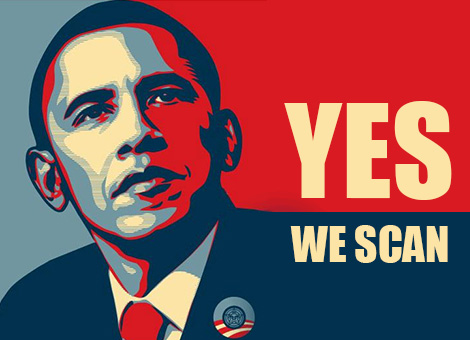 Yes we scan - Obama