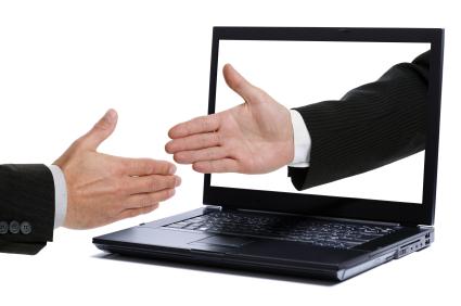 Handshake through monitor