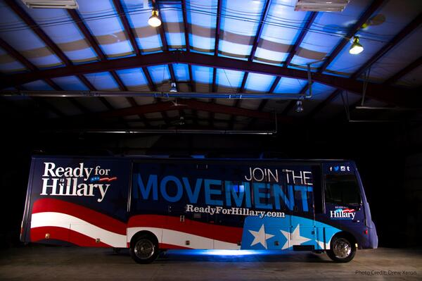 Hillary-Bus